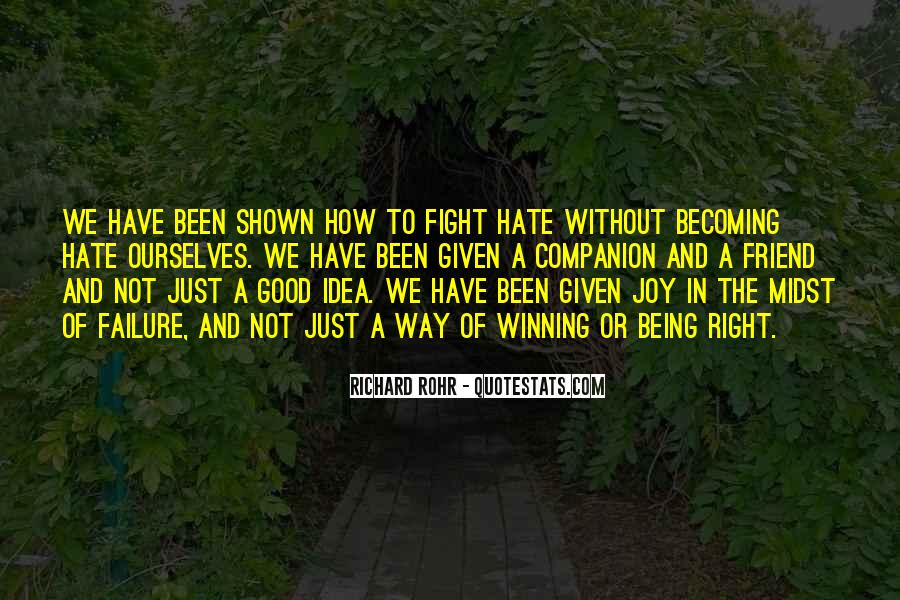 Quotes About Winning The Fight #404121
