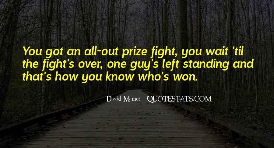Quotes About Winning The Fight #45507