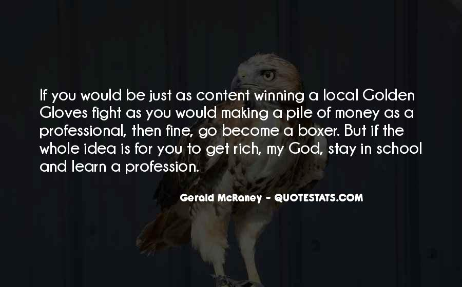 Quotes About Winning The Fight #48944