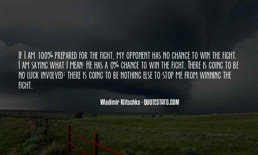 Quotes About Winning The Fight #512606