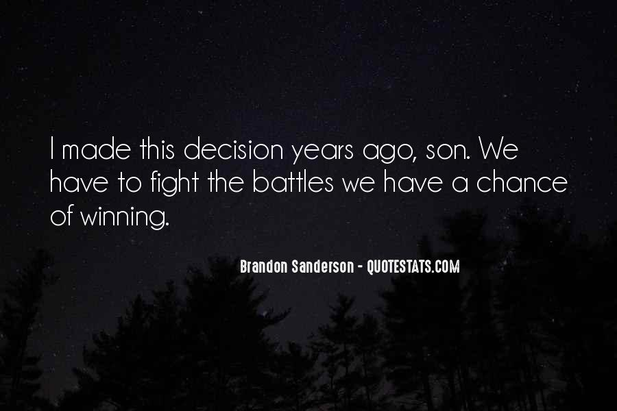Quotes About Winning The Fight #520048