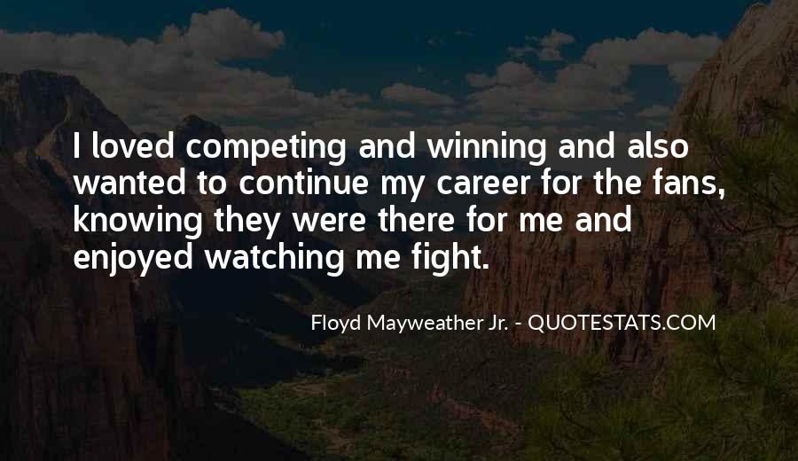 Quotes About Winning The Fight #533042
