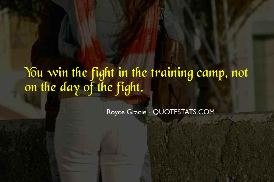 Quotes About Winning The Fight #628121