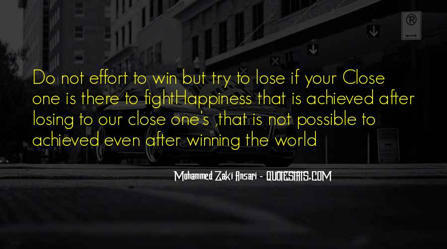 Quotes About Winning The Fight #675165