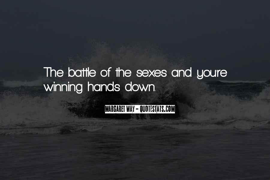 Quotes About Winning The Fight #833978