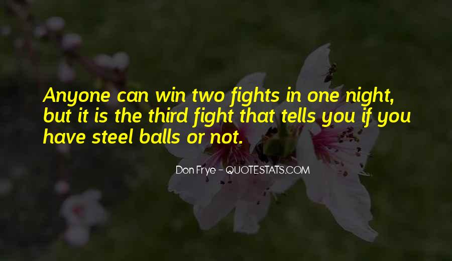Quotes About Winning The Fight #8461