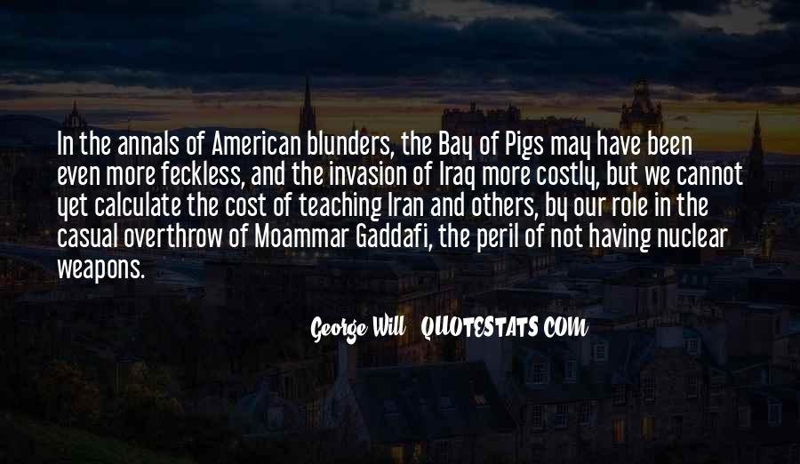 Moammar Quotes #1827783