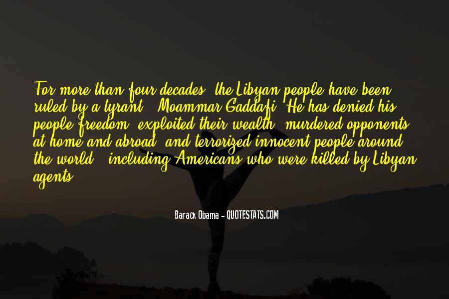 Moammar Quotes #433018