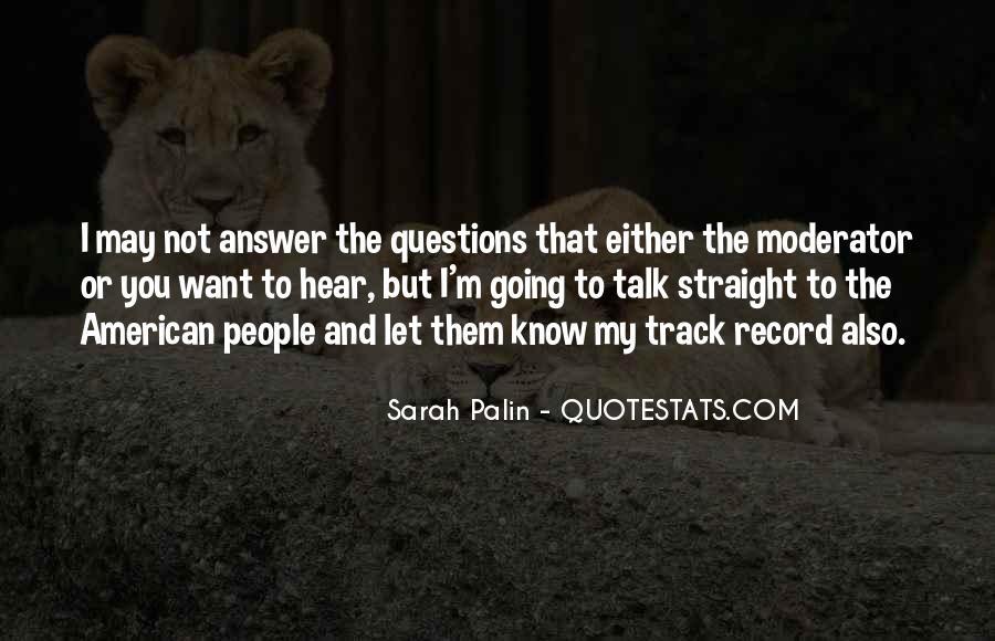Moderator Quotes #1258678