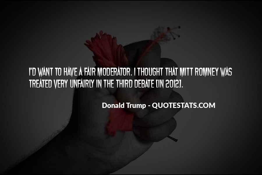 Moderator Quotes #1800694