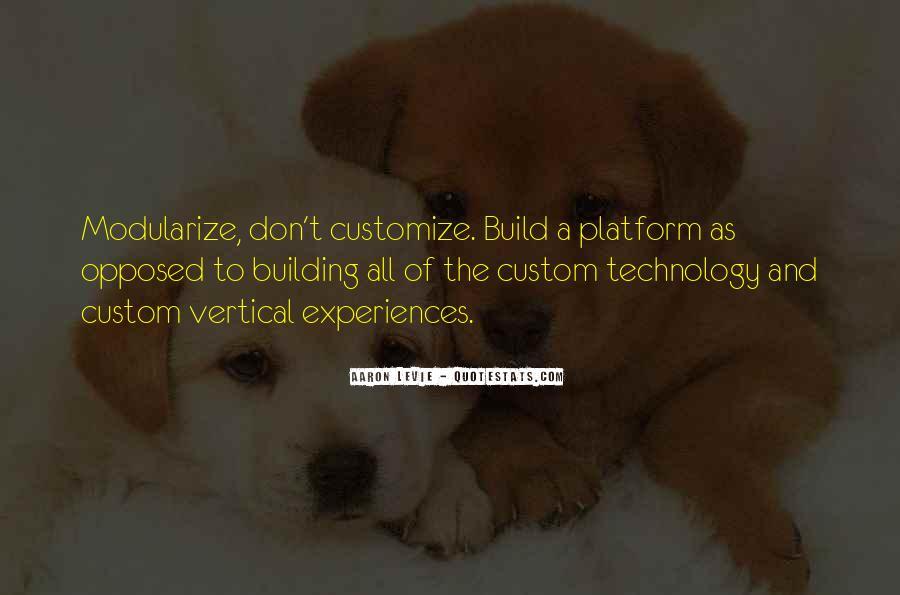 Modularize Quotes #1259390