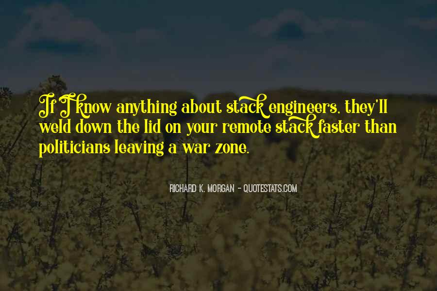 Quotes About War Zone #1152796