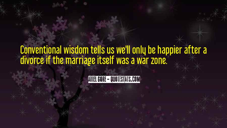 Quotes About War Zone #1235490