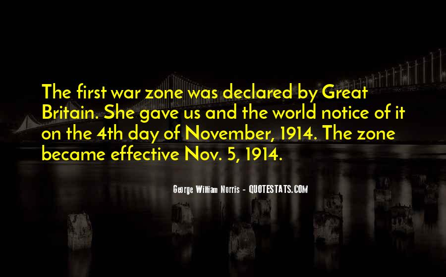 Quotes About War Zone #1288440