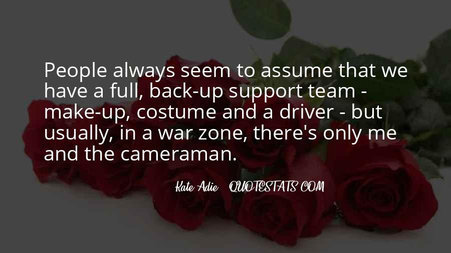 Quotes About War Zone #1401667