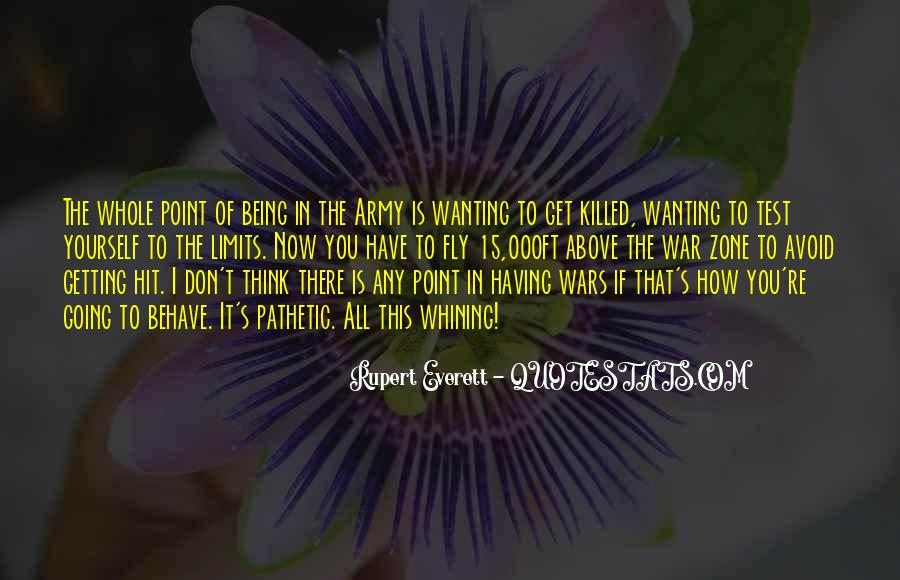 Quotes About War Zone #1469238