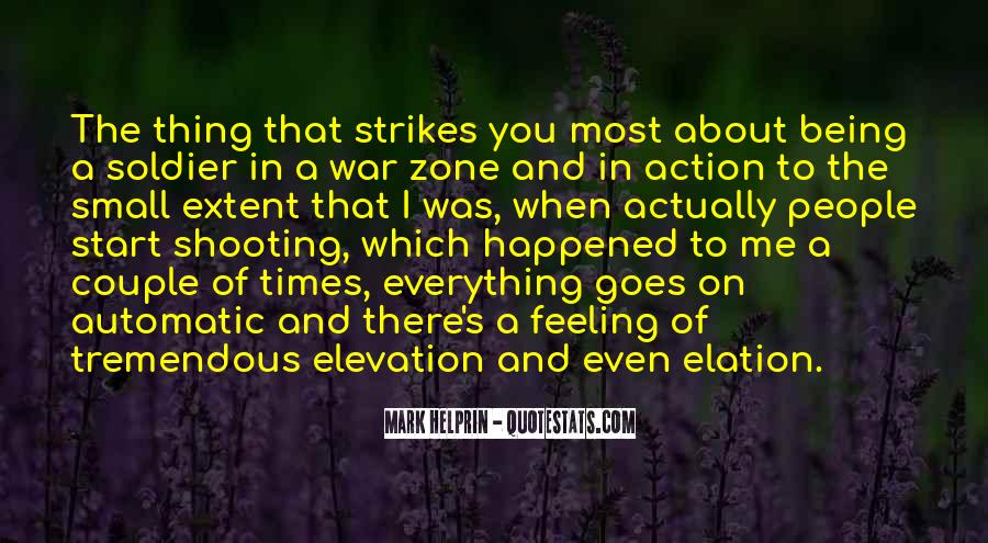 Quotes About War Zone #1646870