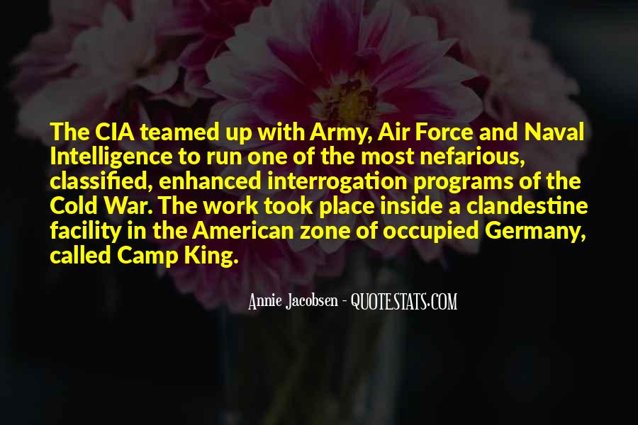 Quotes About War Zone #1771992