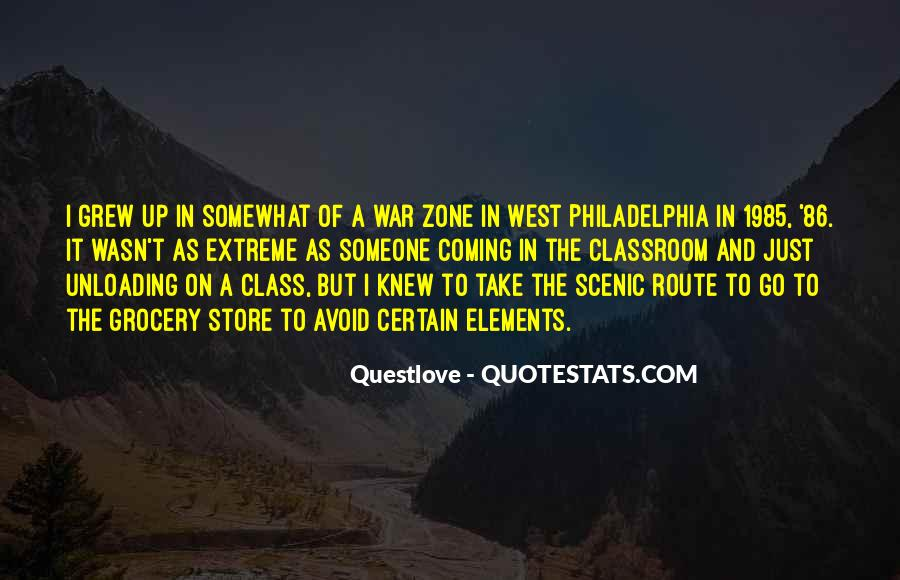 Quotes About War Zone #264282