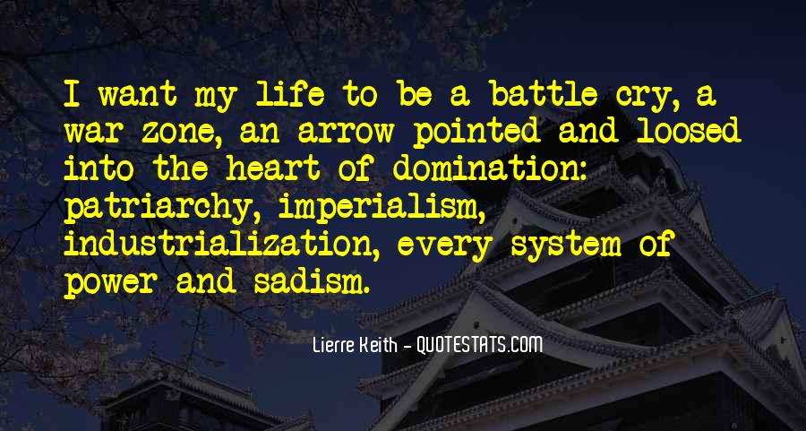 Quotes About War Zone #342430