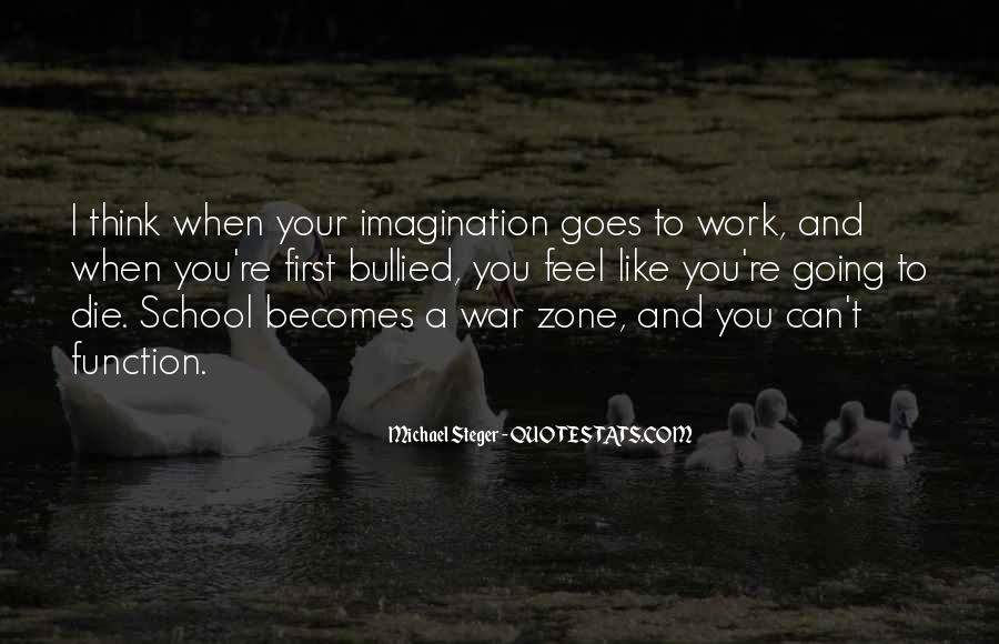 Quotes About War Zone #354595