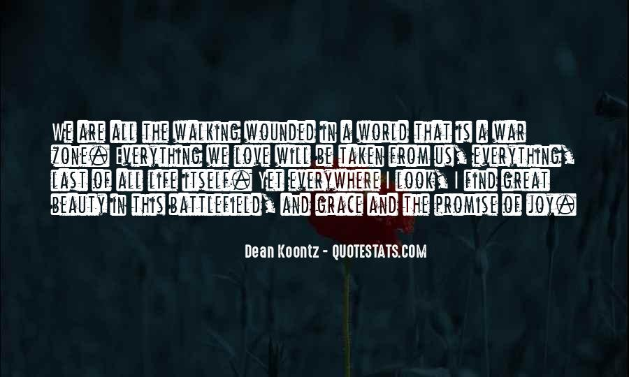 Quotes About War Zone #933355