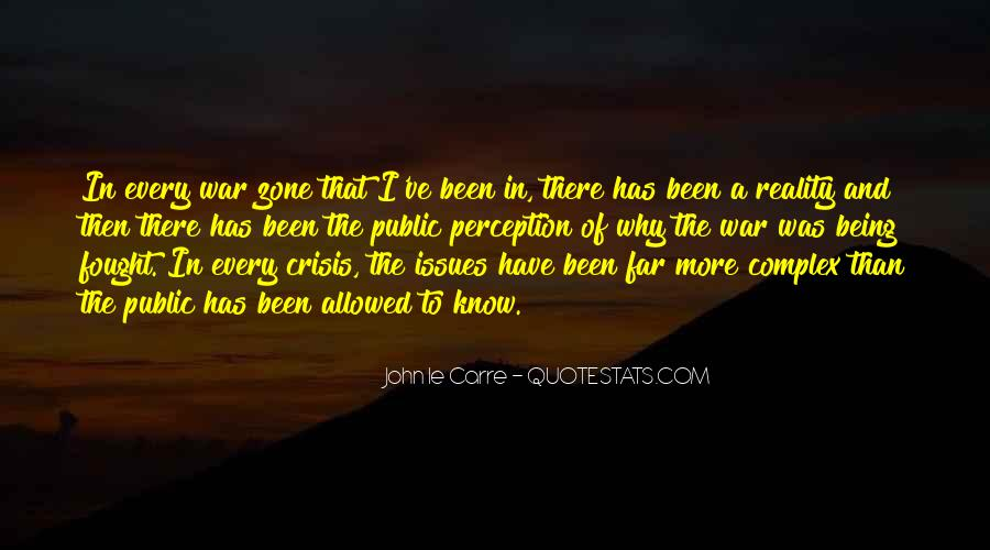 Quotes About War Zone #967628