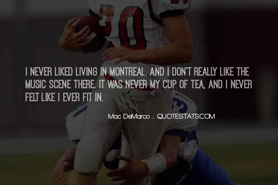 Montreal's Quotes #1214717
