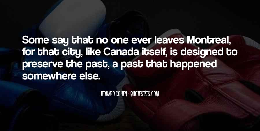 Montreal's Quotes #1224801