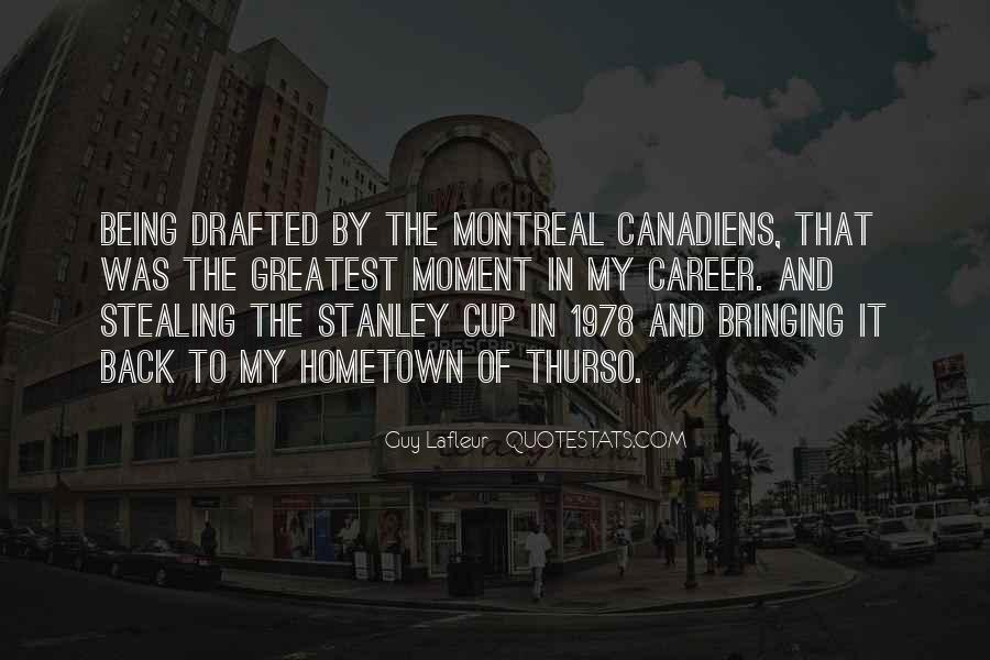 Montreal's Quotes #1228737