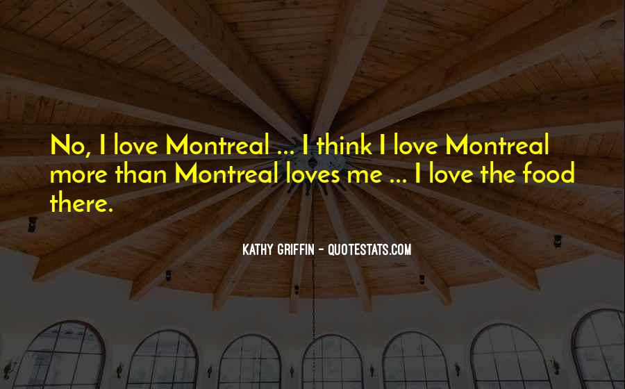 Montreal's Quotes #1422238