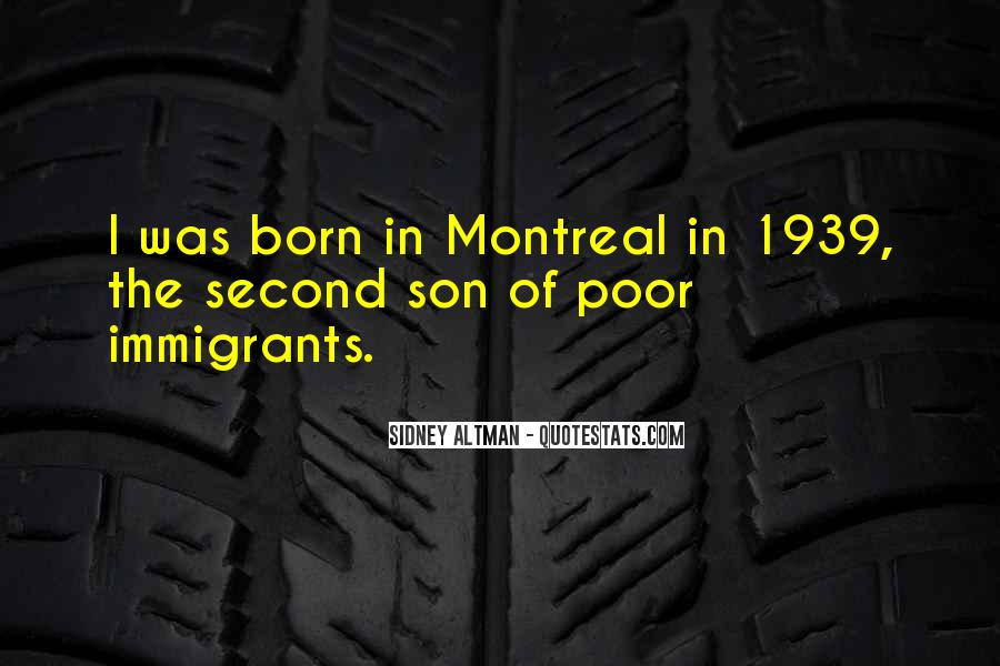 Montreal's Quotes #1490644