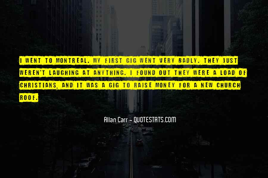 Montreal's Quotes #1620208