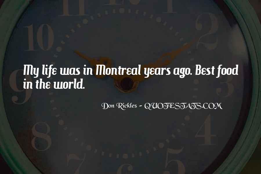 Montreal's Quotes #1625223
