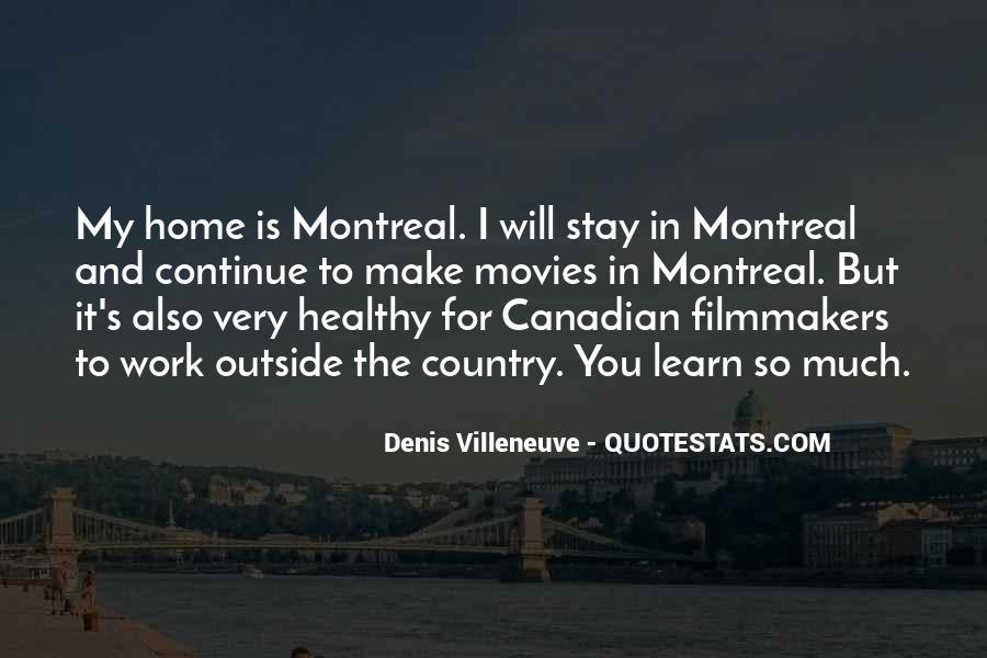 Montreal's Quotes #1642933