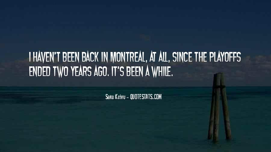 Montreal's Quotes #453565