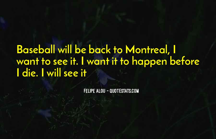 Montreal's Quotes #574152