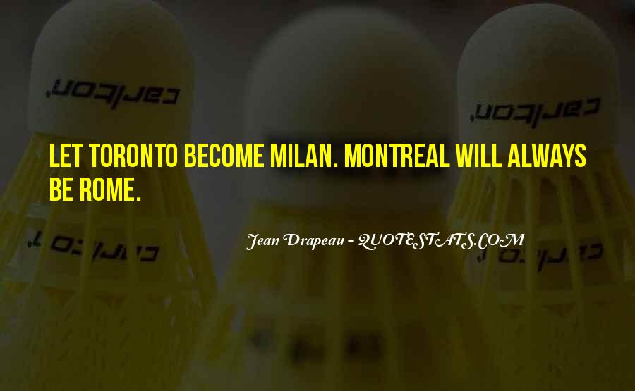 Montreal's Quotes #790936