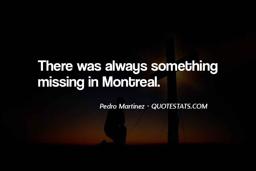 Montreal's Quotes #92465