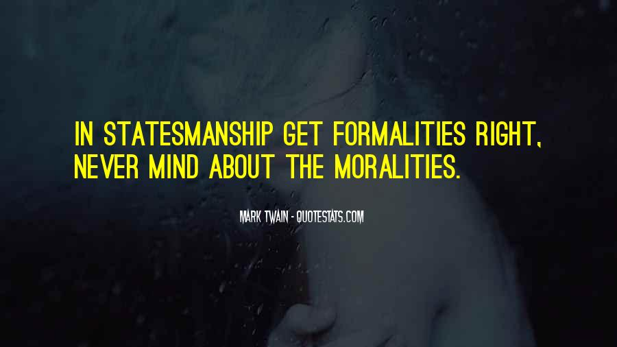 Moralities Quotes #1537942