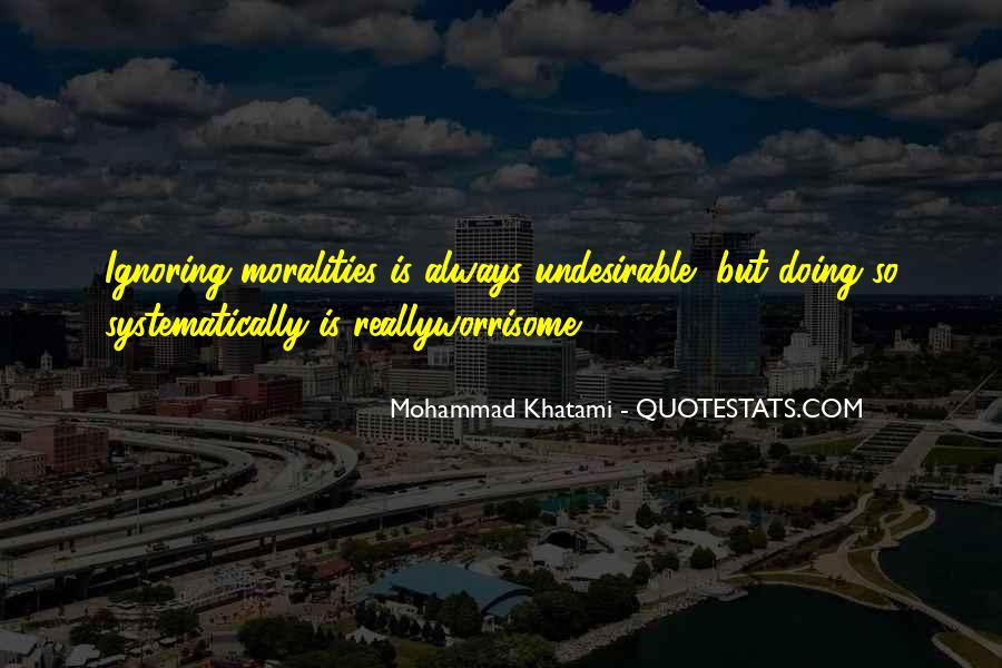 Moralities Quotes #773006
