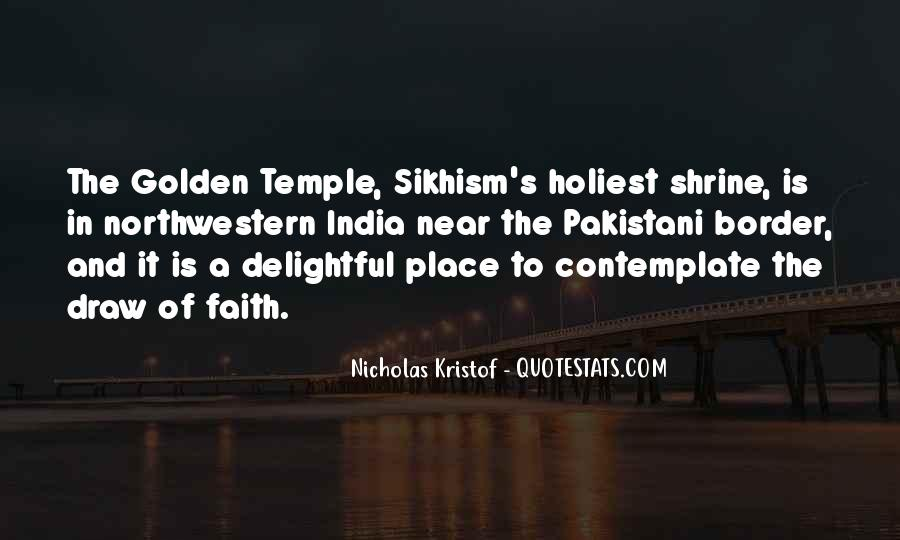 Quotes About The Golden Temple #424913