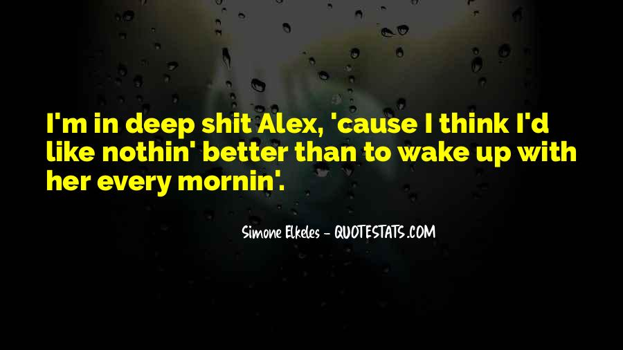 Mornin Quotes #761713
