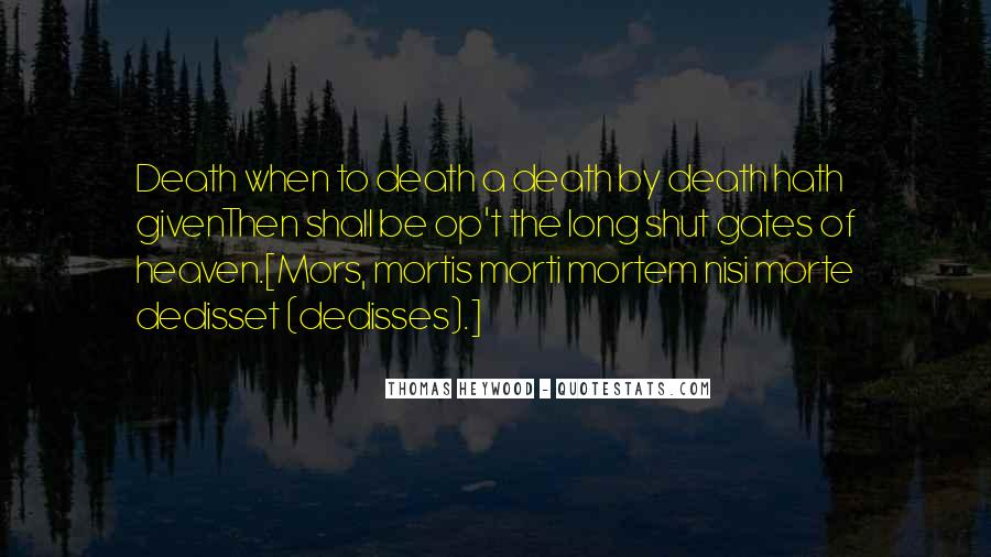 Mors Quotes #1509613