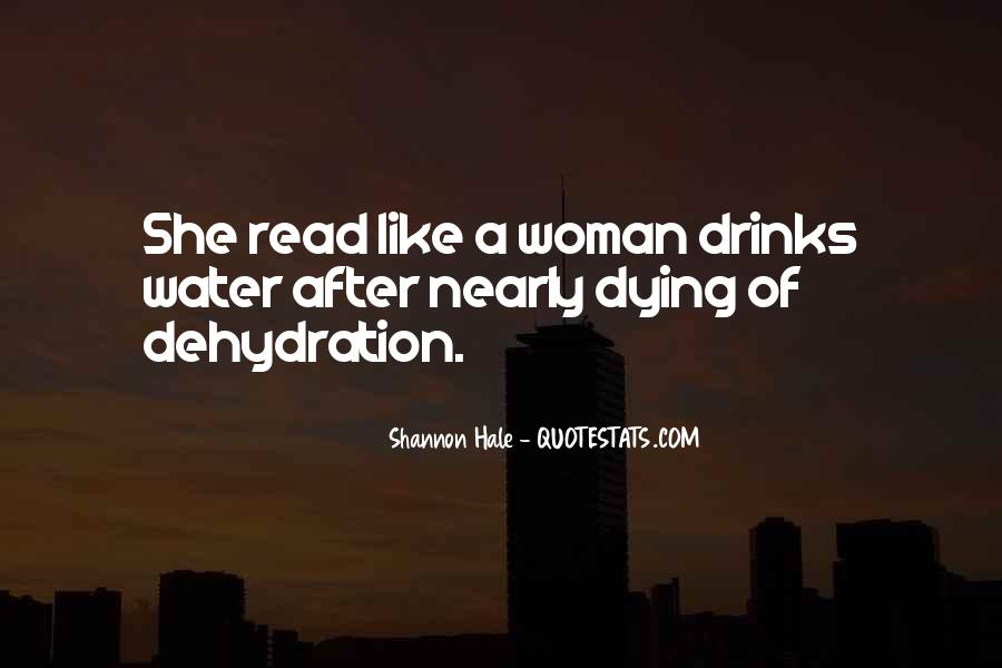 Quotes About Dehydration #1456107