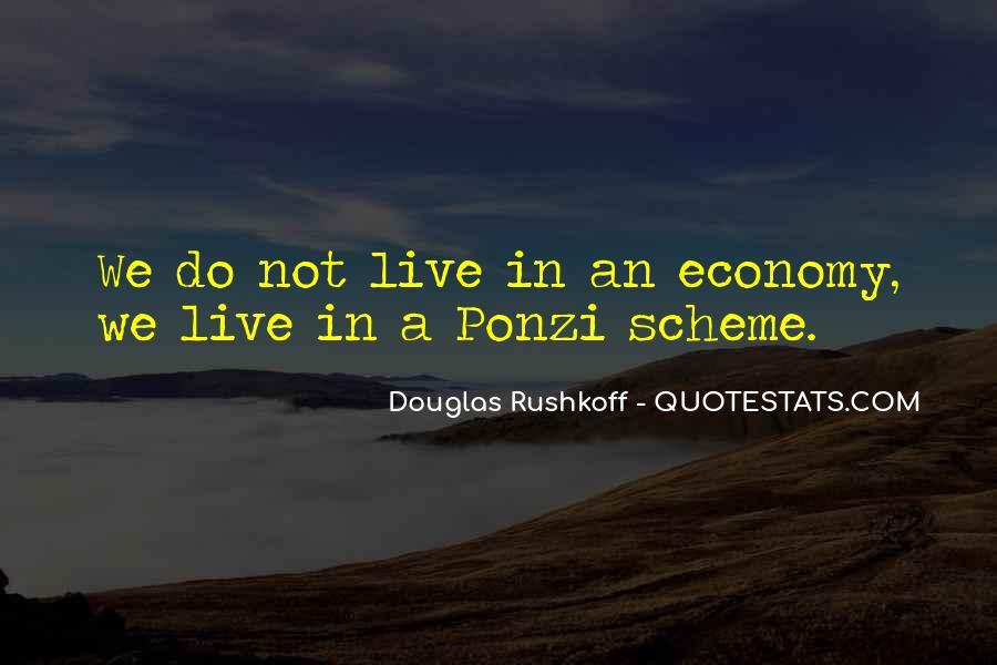Quotes About Ponzi Schemes #154901