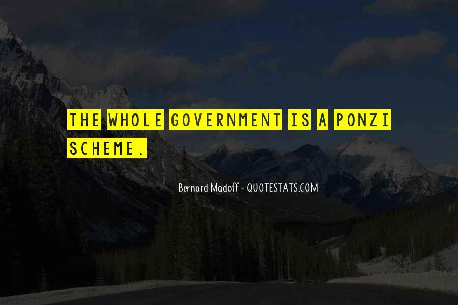 Quotes About Ponzi Schemes #1647071