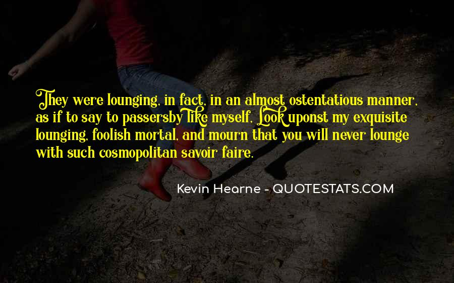 Mourn'd Quotes #151039