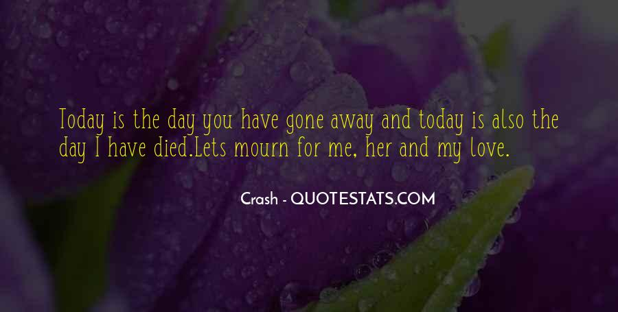 Mourn'd Quotes #54043
