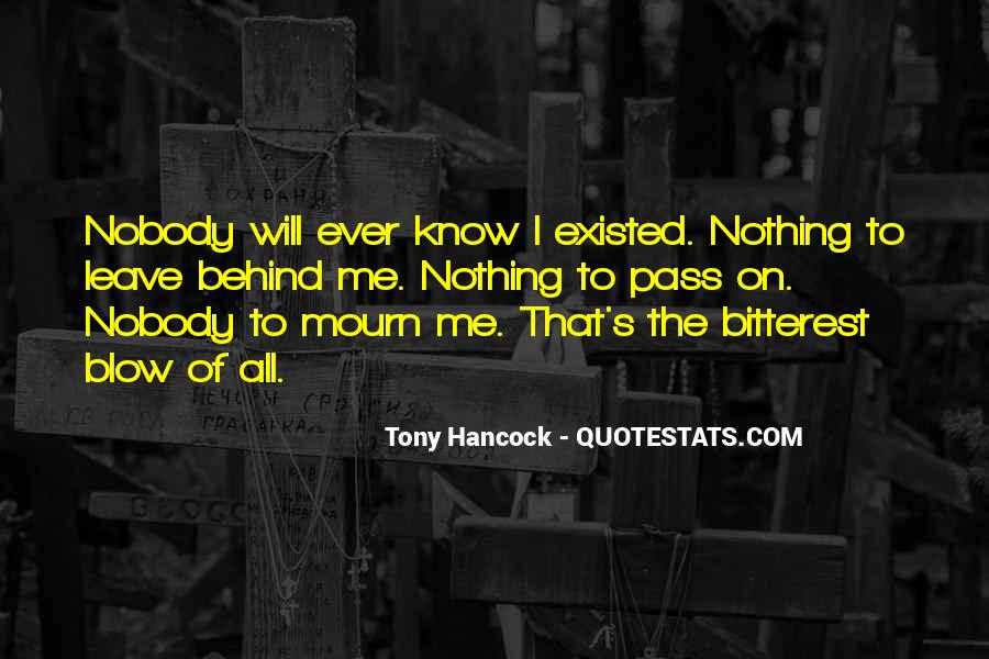 Mourn'd Quotes #84433